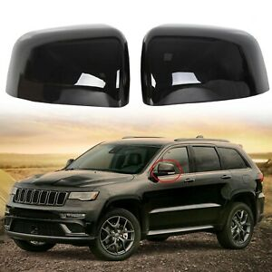 Rear View Mirror Covers For 2011 2019 2020 Jeep Grand Cherokee Dodge Durango