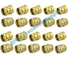 lot Of 20 1 2 Propress Male Female Adapters Propress Brass Fittings