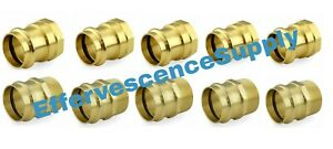 lot Of 10 1 1 4 Propress Male Female Adapters Propress Brass Fittings