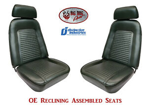 Fully Assembled Seats 1969 Camaro Standard Oe Reclining Your Choice Of Color
