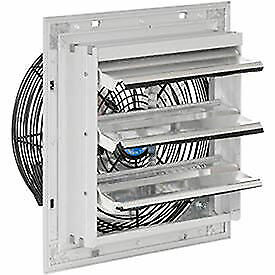 10 Exhaust Ventilation Fan With Shutter Single Speed With Hardware