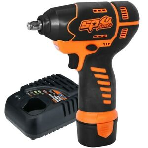 Sp Tools Sp81113 Cordless Mini Impact Wrench 3 8 In Drive 2200 Rpm 105 Nm Torqu