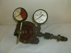 Smith Weld Equipment Mpls H315 Acetylene Welding Gauge Regulator