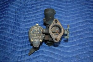 Zenith Brass Carburetor Teens Twenties White Car Or Truck Antique Vintage