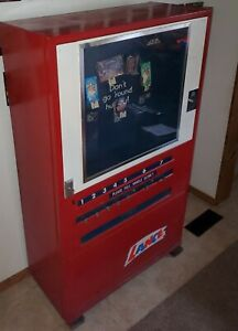 Vintage Lance Snack Vending Machine With Keys In Working Condition