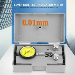 Test Measuring Dial Indicator Gauge Meter Tool Kit Set 0 01mm