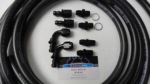 Automatic Transmission Cooler Line Kit 6an Push Lock Hose 25ft gm 4l60e 4l65e