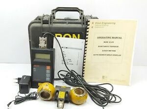 Ron 2125 Bs 32 15t Portable Tension Load Meter Crane Scale Dynamometer Indicator