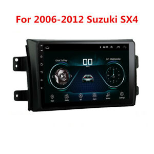 For 2007 12 Suzuki Sx4 9 Android 9 1 Car Stereo Radio Gps Navigation Mp5 Player