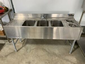 Eagle Bar Sink Under Counter 5ft Stainless Steel