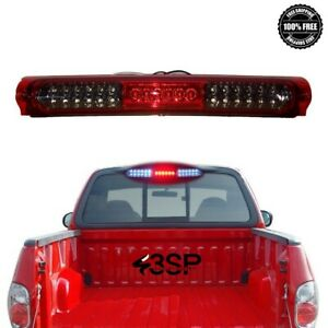 For 1997 2003 Ford F 150 97 98 F250 Red Smoke 3rd Third Brake Light Stop Lamp