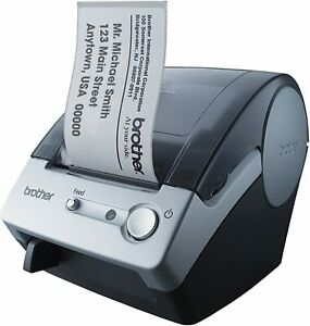 New Brother P touch Ql 500 Manual cut Pc Label Printing System W warranty