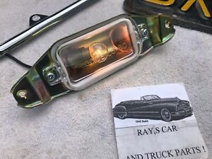 New Replacement 1961 To 1964 Impala Bel Air Biscane License Plate Light