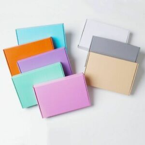 E Corrugated Paper Box Aircraft Solid Carton Gift Packing Hard Package 10pcs lot