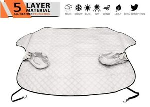 Windshield Snow Cover Extra Large 5 layer Thick Fits Any Car Truck Suv Van Str