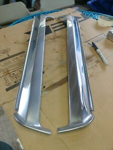 1964 65 66 Ford Thunderbird Front Windshield Pilar Stainless Trim