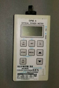 Noyes Opm5 Fiber Optic Power Meter