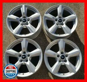 Ford Mustang 2015 2019 Oem Factory Wheel Set 17 Rims 10027 Silver S