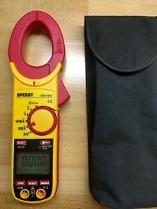 Sperry Instruments Digital Clamp Meter Snap Around Dsa 1010 With Bag