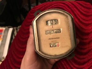 Vintage Antique Stewart Warner auto Speedometer Odometer Instrument Gauge ford A