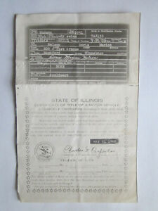 1951 Hudson 4 Door Sedan Barn Find Historical Document