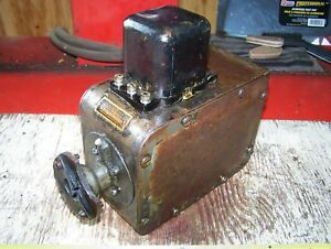 Old Gray Davis Car Truck Tractor Generator Antique Hit Miss Gas Engine Steam Wow