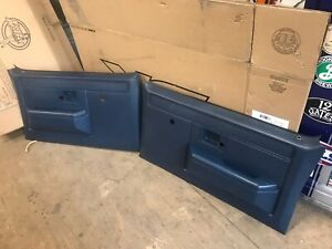 1981 1987 Chevy Scottsdale Custom Deluxe Gmc Sierra K30 Manual Door Panels Oem