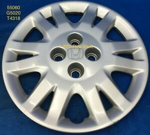 15 Honda Civic 2004 2005 Factory Oem Original Hubcap Wheel Cover 55060