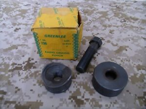 Greenlee 730 Radio Chassis Knockout Punch 2 50 8 Mm