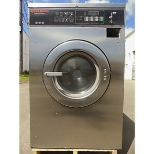Speed Queen 30lb Commercial Washer Ready For Your Hotel