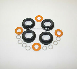 Injector Seal Kit For Massey Ferguson With Direct Injection Set Of 4