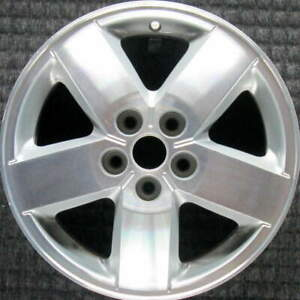 Chevrolet Cavalier Machined 15 Inch Oem Wheel 2003 To 2005