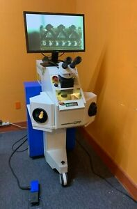 Rofin baasel Laser Welder Swp With Microscope And Colour Monitor