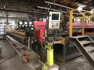 Messer mg Oxy fuel plasma Cutting System With Galt 12 x50 Wet dry Table