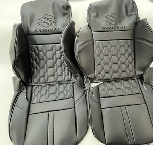 1986 1995 Custom Suzuki Samurai Seat Covers Kit Front Rear Kit And Door Panels