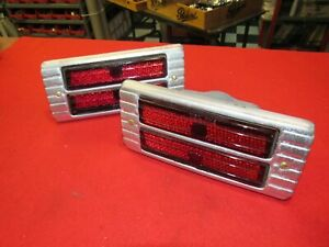 1941 42 Packard Senior Taillights