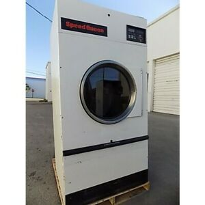 Hotel Ready To Go Speed Queen 50lb Gas Dryers Certified Used With A Warranty