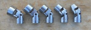 Craftsman 3 8 Drive Standard Sae Swivel Flex Sockets 6pt 5pcs 43267 43266