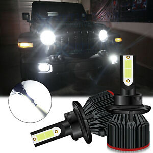 H13 Led Headlight Bulb For Jeep Patriot Wrangler 2007 2019 Renegade 2015 2018