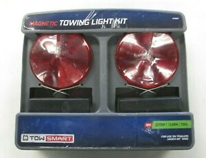 Tow Smart 1402 Magnetic Towing Trailer Light Kit 12v Stop Turn Tail