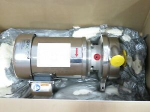 Spx S2065lv Stainless Steel Sanitary Centrifugal Pump 3hp Newinbox 2018 W certs