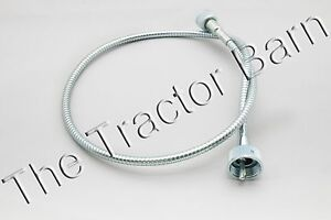 Metal Tachometer Proofmeter Tach Cable Ford Tractor Naa Jubilee 600 B9nn17365b