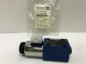 Rexroth R900554753 Hydraulic Directional Control Valve 4we 6 d62 eg24k4 24vdc