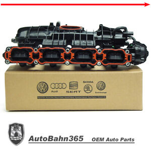 New Genuine Oem Vw Intake Manifold 1 8 2 0 Jetta Beetle Passat Golf 2014 2018