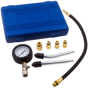 Spark Plug Cylinder Compression Tester Test Kit Measuring Tool