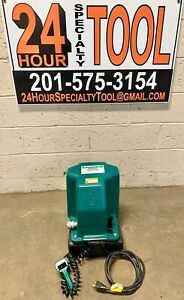 Greenlee 980 Electric Hydraulic Pump With Pendant Like 960 Works With All Bender