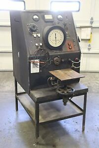 Potter Rayfield Electric Dm10 3 phase Heavy Duty 120 240v Ac Motor Torque Tester