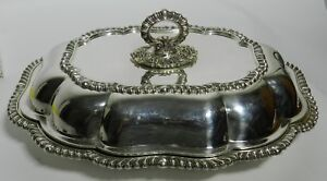 Rare Vintage Friedman Silver Co Silverplate Covered Casserole 3341 Vt2642