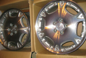 Genuine 2 piece Lorinser Lm 2 9jx18h2 Et44 Bolt Pattern 5x112 Mm Nos Pair