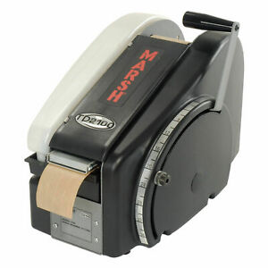 Marsh Manual Hand Taper Paper Water Activated Tape Dispenser Tdh